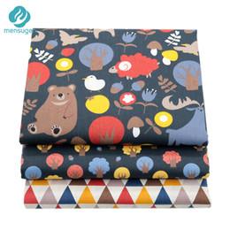 Bettwäsche stoff meter online-Stoff Meter Cartoon Baumwollgewebe für Kinderbett Bettwäsche Kissen Decke Kissen DIY Nähen Material Patchwork Quilten