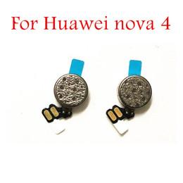 Вибрационный двигатель телефона онлайн-Для Huawei nova 4 Вибратор Модуль Для Huawei nova4 Сотовый телефон Двигатель Вибрация Лента Шлейф Ремонт Ремонт запасных частей КК