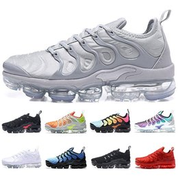 golf sportartikel Rabatt Designer Männer und Frauen sowie TN Laufschuhe blau Waren Khaki drei weiße Sportschuhe Silber Farbverlauf Sorbet Sportschuhe frei sh