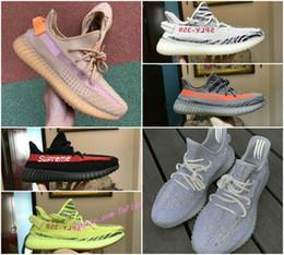 Designs 2019 Original V2 Argile Statique Hommes et Femmes Chaussures Pas Cher 3M Réfléchissant Boost True Form Hyperspace Kanye Ouest Wave Runner Trainer Chaussures ? partir de fabricateur