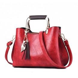 Bolsos de color del ejército online-MONNET CAUTHY Mujer Bolsos Moda Estilo Vintage Dulce Señoras Bolsos Color Sólido Verde Caqui Vino Rojo Rosa Crossbody Hobos # 94243