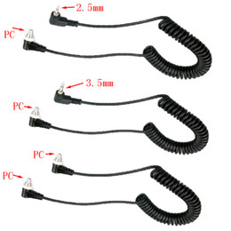 2019 кабель usb uc e6 10шт/много ПК-2.5 ПК-3.5 мм ПК-ПК мм поворот головы вспышки PC PC синхронной линии линии швов линия