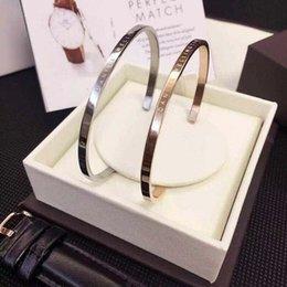 Le tendenze dei gioielli più calde online-uomini Relogio Femme polso braccialetto DW moda tendenza calda semplici ragazza delle signore dei monili del braccialetto 316 braccialetto in acciaio inossidabile