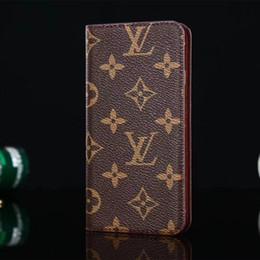 2019 carte de crédit moto Designer de luxe en cuir portefeuille cas de téléphone pour iPhone X XR Xs max 6 plus 7 7 plus 8 8 plus Top qualité bâton cas de téléphone titulaire de la carte couverture