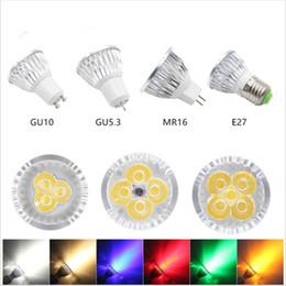 2019 led dimmable mr16 5w La lampe à ampoule GU10 MR16 E27 E14 menée par Dimmable de puissance élevée a mené le projecteur léger led dimmable mr16 5w pas cher