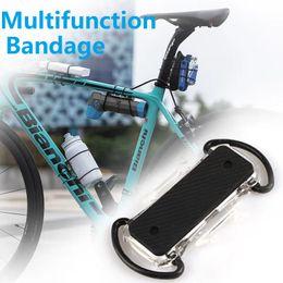 Bisiklet İşlevli Montaj Dirseği Bandaj Bisiklet Işık / Aracı / Tüp / Pompa / Cep telefonu / Enerji jeli / Di2 Pil Taşıma Tabanı cheap bicycle energy nereden bisiklet enerjisi tedarikçiler