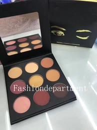 palette de fard à paupières crème professionnelle Promotion Nouvelle palette de maquillage 9 couleur à la mode 6 styles disponibles Palette de fard à paupières