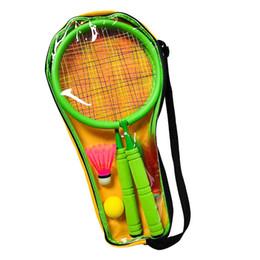 Deutschland Teenager Tennisschläger für das Training Tennisschläger für Kinder Starter Schläger Badminton Set mit Free Ball cheap badminton training racket Versorgung