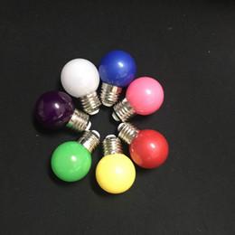 Led ampoule de couleur rouge, jaune, bleu, vert, violet, chaud, blanc, bulle de couleur ? partir de fabricateur
