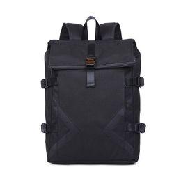 Canada Sac à dos d'équitation tendance pour homme européen et américain avec sac anti-vol USB, sac réfléchissant de grande capacité pour étudiant (noir) Offre