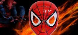capitão américa natal luzes Desconto Diodo emissor de luz máscara de incandescência hero spiderman capitão américa hulk homem de ferro máscara para crianças adultos natal do dia das bruxas aniversário led máscara