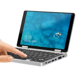 "Pc del ridurre in pani 8gb online-7 ""IPS TouchScreen Laptop con tastiera Bluetooth retroilluminata one-netbook one mix Intel Atom Z8350 8G 128G Plus 360rotate tablet PC"