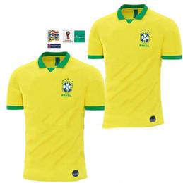 19 20 Brasil National Team COUTINHO Soccer Jersey 2019 2020 Brazil MARCELO  WILLIAN Football Jersey PAULINHO Football Shirt G.JESUS Soccer f1cef5913