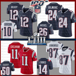 Rob on-line-Novo Tom Brady Jersey Englands Rob Gronkowski Patriot Julian Edelman Stephon Gilmore Hightower Sony Michel Josh Gordon Cooks Amendola