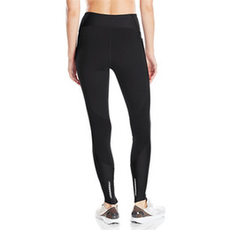 S-XXL UA Leggings elasticizzati Pantaloni skinny da donna Collant Sports Jogging Pantaloni push up a vita alta YOGA Pantaloni sportivi GYM 2019 C42305 da