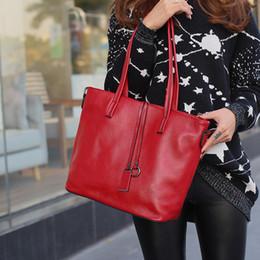 ручная сумка большая женщина Скидка Genuine Leather Bag Women Shoulder Bag For Women 2019 Big Handbag  Lady Hand Bags Messenger