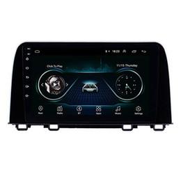 Honda crv gps online-9 pulgadas Android 9.0 pantalla táctil de alta definición de Bluetooth GPS del coche de radio de la navegación para Honda CRV 2017 2018