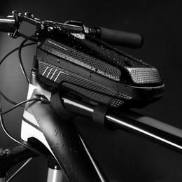 Suya Dayanıklı Ön Üst Tüp Bisiklet Çantası EVA Büyük Kapasiteli Depolama Kılıfı Dağ Yolu Bisiklet EVA Dağ Bisiklet Kılıfı Çanta cheap eva water bag nereden eva su çantası tedarikçiler