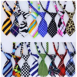 pet dog bow fashion ties Promo Codes - Wholesale New Fashion Style Pet Tie High Quality Hot Sale Dog Tie Print Bowknot Professional Design Pet Ties Free Shipping