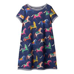 Canada Vêtements de marque européenne et américaine de style pour enfants en gros été nouvelle robe de princesse de coton robe transfrontalière filles robe à manches courtes Offre