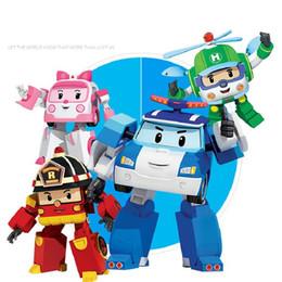 2019 qualidade de brinquedos de fazenda animal Frete grátis vermelho azul verde rosa quatro divertida força de plástico controle de deformação robô unisex brinquedos para crianças