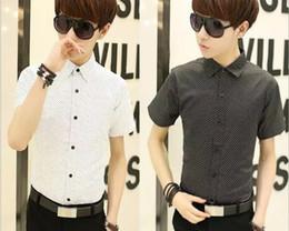 9c229775a4d 2019 мужские весенние и летние рубашки Новая мода простой корейской версии  с короткими рукавами мужские рубашки T30 корейская мода для мужчин шорты на  ...