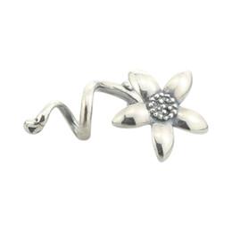 Troll armbänder charme online-925 Sterling Silber Troll Anemone Anhänger Charms NICHT Original Fit Europäischen Troll Armband Halskette Schmuck Ohne Perle