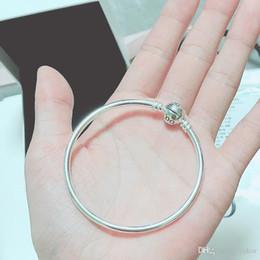 NOUVEAU Classic Ball Clips Moments Bracelet BRACELET Boîte d'origine pour Pandora 925 Sterling Argent Femmes Hommes Bracelets ? partir de fabricateur