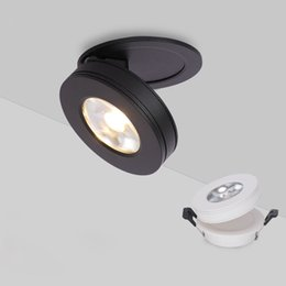 Super Ultra-mince 3W 7W 10W Downlight COB Spot Light Plafonnier Éclairage Intérieur avec lampe pliable lumière de piste de pilote ? partir de fabricateur