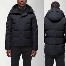 2019 parka leve preto Luxo 2020 jaqueta de inverno Fourrure de Down Parka Homme Putin Chaquetas Casacos Big Fur com capuz Manteau MacMillann Canadá para baixo casaco Tamanho XS-XXL