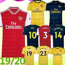 jersey de deutschland Rebajas 19 20 equipos de fútbol Arsen NICOLAS CEBALLOS HENRY camiseta de fútbol TIERNEY O S I L P # 10 E P E # 19 de la camisa de fútbol