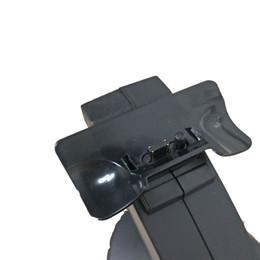 base de carga dock ps4 Rebajas Soporte de carga de la estación de acoplamiento del controlador del cargador PS4 Puerto de contacto para auriculares para juegos de PS 4 Para Sony Playstation 4 PS4 Pro Slim Gamepad