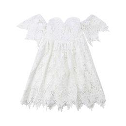Bébé Enfants Filles Paillettes Robes de Mariage Pageant baptême Tulle robe de bal robe bain de soleil