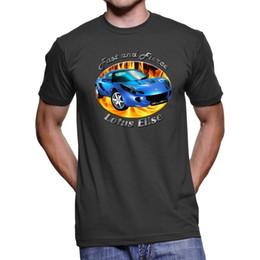 Lotus Elise SC rápido y feroz camiseta oscura para hombres desde fabricantes
