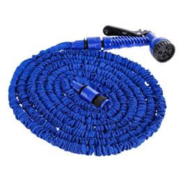 ODOOL 25/50/75/100/150/175 / 200FT Lavado de coches Kit de pulverización de limpieza Jardín Jardín telescópico flexible Manguera de agua Pistola de riego VODOOL 25/50/7 ... desde fabricantes