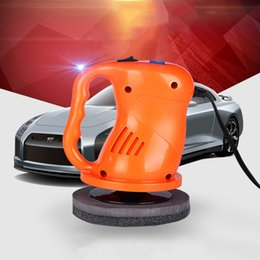 painting abs plastics Coupons - 12V 40W Electric Car Polisher Waxing Polishing Machine Car Stying Paint Care Repair Polisher ABS Plastic