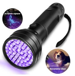 blacklight taschenlampen Rabatt Hohe Quailty 51 UV-UV-LED-Taschenlampe Violet Blacklight Schwarzlicht-Taschenlampe 395 nM Aluminium-Shell-UV-Taschenlampe Mini Light Taschenlampen