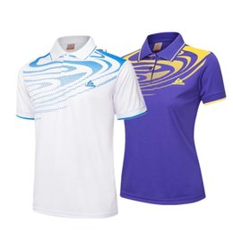 blue badminton t shirts Coupons - badminton wear clothes ,Table Tennis wear t shirts ,Tennis t shirts ,pingpong ,table tennis for men clothing women