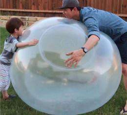 2019 детские игрушки для мальчиков Удивительный шарик пузыря Забавная игрушка наполненный водой воздушный шар TPR для детей взрослых Открытый шарик пузыря надувные игрушки украшения партии скидка детские игрушки для мальчиков