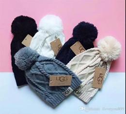 ragazzi crochet cappello da sole Sconti Unisex Autunno Inverno Beanie cappello degli uomini di marca cappelli di lana cappelli classici casuali sci gorros hip hop donne Bonnet berretti all'ingrosso