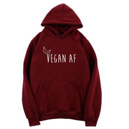 2020 hoodie di dropshipping Vegan con cappuccio per le donne Harajuku Felpa con cappuccio Womens Pullover manica lunga girocollo Autunno Abbigliamento Ulzzang Dropshipping hoodie di dropshipping economici