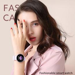 смарт-цифровые часы gps Скидка FANTEMO Smart Watch Модные Женские Цифровые Часы Водонепроницаемые Трекер Напоминания Периода Монитор Сердечного ритма Красоты