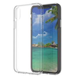 кристаллы кремния Скидка Ультра-тонкий ТПУ Crystal Crystal Прозрачный Мягкий силиконовый чехол Чехол для iPhone XR XS MAX X 7/8/6 плюс Samsung S10 / S9 / S8 Plus S7edge Xiaomi Mi8