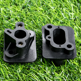 pipe manifolds Coupons - rush cutter DRELD 2Pcs Trimmer Parts Tools 40-5 43CC 52CC Brush Cutter Intake Manifold Carburetor Base Connector Admitting Pipe Carb Adap...