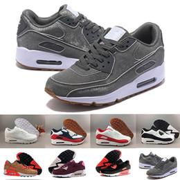 nike air max 90 airmax 2018 Новый 90 мужчины Повседневная обувь мужчины высокое качество дышащая сетка Chaussures Homme BW LTD спортивная ходьба трусцой от