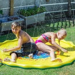 2019 giocattoli pad PVC grande getto d'acqua giocattolo getto d'acqua pad bambini estate all'aperto giochi di nuoto pad piscina spiaggia piscina giocattolo T2I5201 giocattoli pad economici