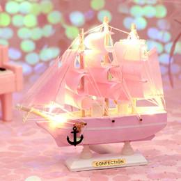 modelos de aviones construidos Rebajas Decoración del juguete de simulación de barco de vela de madera maciza ambiente mediterráneo don recíproco orden de la nave modelo de simulación de bienvenida chica creativo