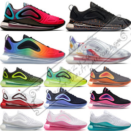 Ostern sneakers online-2019 Nike Air Max 720 Volt Future Laufschuhe für Herren Be True Pride Volt Easter Pack Damen Triple Weiß Schwarz Northern Lights Sunset Sport Sneakers 36-45
