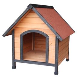 Новый Водонепроницаемый Большой Дом Для Собак Pet Кровать В Приюте Дома Погода Зима Питомник от