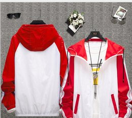 Verbrechen licht online-2019 neue leichte und dünne atmungsaktive Kriminalität Design Trend Mantel Liebhaber Sonnenbräune Shirt Outdoor-Haut Kleidung Sport Casual Fashion heißen Stil